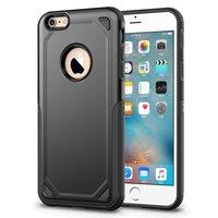 Pro Armor Shockproof iPhone 6 6s Hülle - Schutzhülle Schwarz - Zusätzlicher Schutz