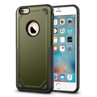 Pro Armor Shockproof iPhone 6 6s Hülle - Schutzhülle Army Green - Zusätzlicher Schutz
