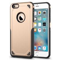 Pro Armor Shockproof iPhone 6 6s Hülle - Schutzhülle Gold - Extra Schutz Gold