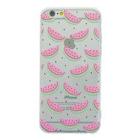 Wassermelonenhülle transparent iPhone 6 Plus 6s Plus TPU Silikon Frucht Klare Abdeckung Melone