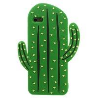 3D Kaktus Hülle Silikon iPhone 6 Plus 6s Plus - Grün