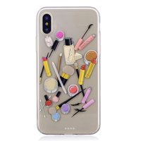 Make-up TPU Hülle für iPhone X XS - Transparent