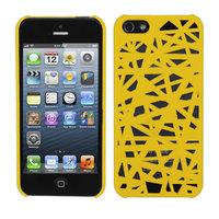 Vogelnest Fall Vogel Fall iPhone 5 5s SE 2016 Fall Abdeckung Einzigartiges Vogelnest Design - Gelb