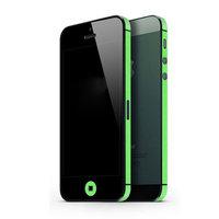 Autoaufkleber iPhone 5 5s SE 2016 Dekor Farbe Rand Haut - Grün