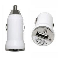 Autoladegerät Autoladegerät iPhone iPod Car Plug Adapter Ladegerät - Weiß