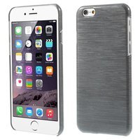 Gebürstete Hardcase-Abdeckung iPhone 6 6s - Grau