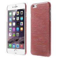 Gebürstete Hartschalenhülle iPhone 6 6s - Rot