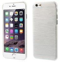 Gebürstete Hartschalenhülle iPhone 6 6s - Weiß