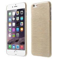 Gebürstetes Hardcase iPhone 6 Plus 6s Plus Hülle - Beige