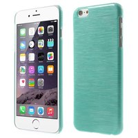 Gebürstetes Hardcase iPhone 6 Plus 6s Plus Hülle - Blau