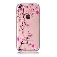 Rosa Blütenzweige TPU Hülle iPhone 7 8 SE 2020 - Transparent
