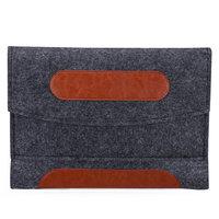 Einsatzhülle für iPad Mini Kunstleder und Filz - Graue Hülle