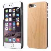 Helle Holzkiste Holzkiste iPhone 7 Plus 8 Plus - Hellbraun