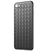 Baseus Weaving Case gewebt iPhone 7 8 SE 2020 TPU Hülle - Schwarz