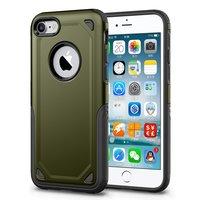Stoßfeste Hülle Pro Armor iPhone 7 - Schutzhülle Grün - Zusätzlicher Schutz