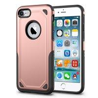 Stoßfeste Hülle Pro Armor iPhone 7 - Schutzhülle Roségold - Zusätzlicher Schutz