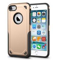 Stoßfeste Hülle Pro Armor iPhone 7 - Schutzhülle Gold - Zusätzlicher Schutz
