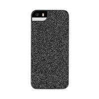 FLAVR iPlate Glamour Glitter Shine iPhone 5 5s SE 2016 Hülle - Schwarz