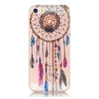 Klare Dreamcatcher iPhone 5 5s SE 2016 TPU Hülle - Braun Lila
