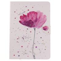 Blume rustikale Flip Cover Hülle iPad Air 3 (2019) & iPad Pro 10,5 Zoll - Weiß Pink