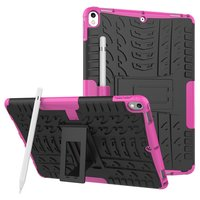 Hybrid TPU Polycarbonat iPad Air 3 (2019) & iPad Pro 10,5 Zoll Hülle - Pink Profile Standard