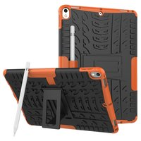 Hybrid TPU Polycarbonat iPad Air 3 (2019) & iPad Pro 10,5 Zoll Hülle - Orange Profile Standard