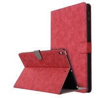 Leder iPad Air 3 (2019) & iPad Pro 10,5 Zoll Hülle magnetisch - Rot