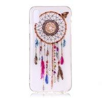 Dreamcatcher Butterfly Case Transparent iPhone XR - Pink