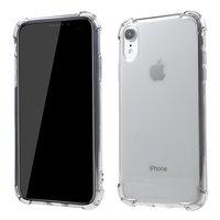Transparente stoßfeste Hülle TPU iPhone XR - Transparent Grau