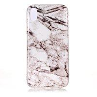Marmorgrau TPU Hülle für iPhone XR Hülle - Grau