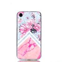 Diamant TPU iPhone XR Hülle - Pink