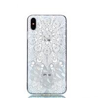 Diamant Hülle TPU iPhone XS Max Hülle - Mandala