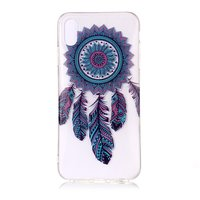 Klare Dreamcatcher iPhone XS Max TPU Hülle - Blau Lila