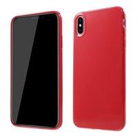 Flexible TPU-Hülle für iPhone XS Max Hülle - Rot