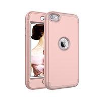 Rüstung Stoßfester Silikon Polycarbonat iPod Touch 5 6 7 Hülle - Pink