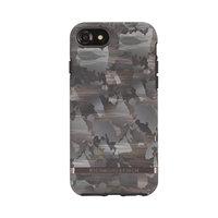 Richmond & Finch Camouflage schwarz braun Armee drucken iPhone 6 6s 7 8 SE 2020 - Grün