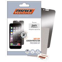 Displex Privacy Displayschutzfolie transparent iPhone 6 6s - Transparent