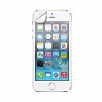 Xqisit Displayschutzfolie Glänzend zweiteilig iPhone 5 5s 5c SE 2016 - Transparent