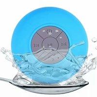 Spritzwassergeschützter Bluetooth-Dusch- und Badlautsprecher - Blau