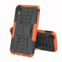 Hybrid Standardgehäuse stoßfeste Abdeckung iPhone XS Max - Orange