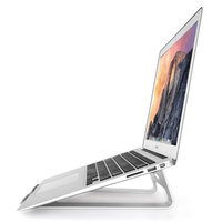 Universal Aluminium Halter Laptop Stand Standard 11-15 Zoll - Silber