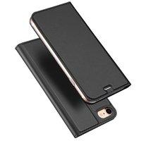 Dux Ducis Cover Booklet Case Cover mit Klappenleder Cover iPhone 7 8 - Schwarz
