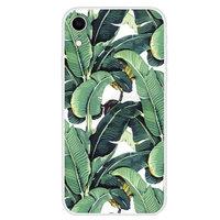 Bananenblätter iPhone XR Hülle - Grüne Abdeckung