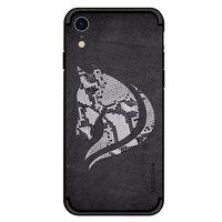 NXE Snake Tubing Horse TPU Hülle für iPhone XR - Schwarze Hülle