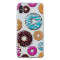 TPU Hülle iPhone XS Max Hülle - Donut Soft