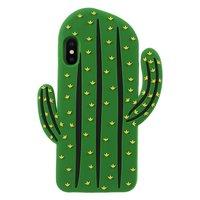 Kaktus Silikon Hülle iPhone XS Max Abdeckung - Grüne Hülle