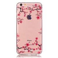 Klare Blüte iPhone 6 6s TPU Hülle - Pink