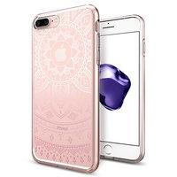 Spigen Liquid Crystal Shine Hülle für iPhone 6 Plus 6s Plus 7 Plus 8 Plus - rosa Hülle