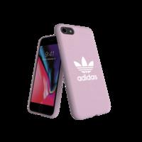 adidas Originals geformte Hülle CANVAS FW18 iPhone 6 6s 7 8 SE 2020 rosa Hülle