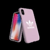 Adidas Originals geformte Hülle CANVAS FW18 iPhone X XS rosa Hülle